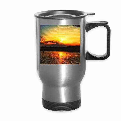 Sunset on paradise - Travel Mug