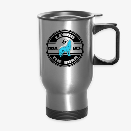 Lesbo and The Bean Logo - Travel Mug