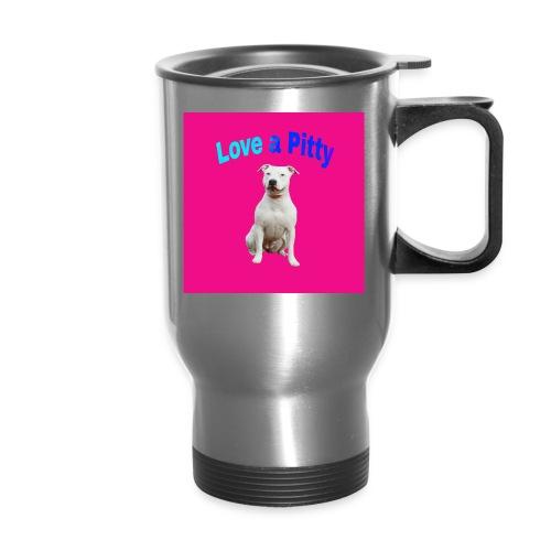 Pink Pit Bull - Travel Mug