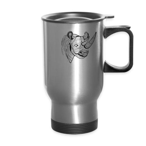 Save the Rhinos - Travel Mug