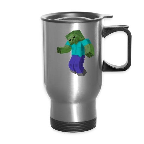 Mine-craft animation to go - Travel Mug