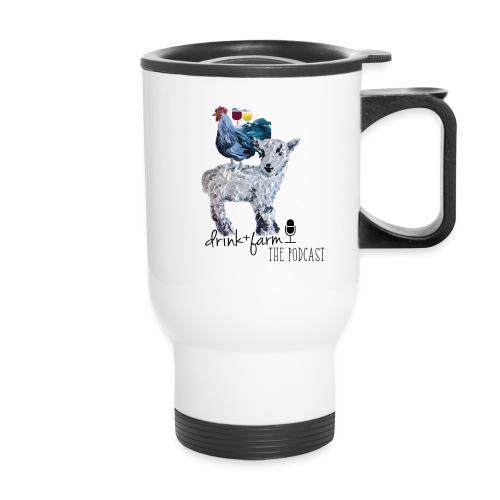 Drink & Farm Logo - Travel Mug with Handle