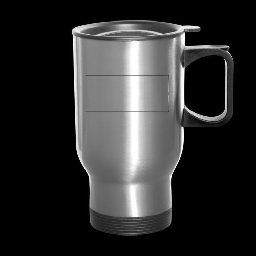 White Design - Travel Mug