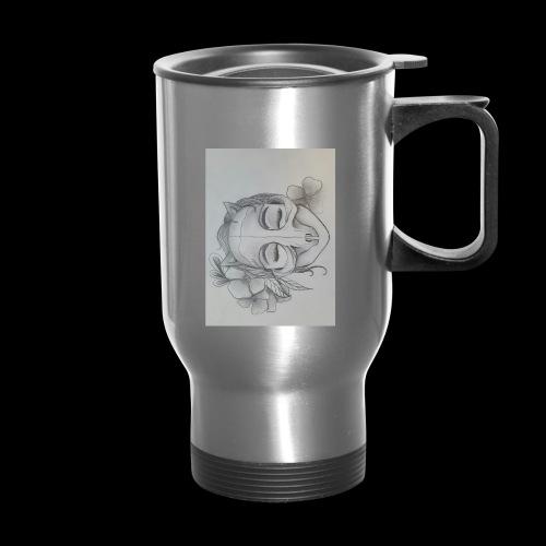Masked Girl - Travel Mug