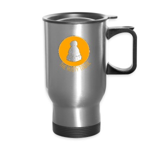 The Rusty Toque Orange Logo 2 - Travel Mug