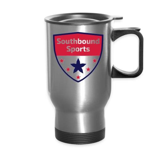 Southbound Sports Crest Logo - Travel Mug