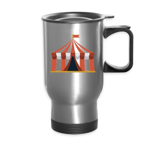 Striped Circus Tent - Travel Mug