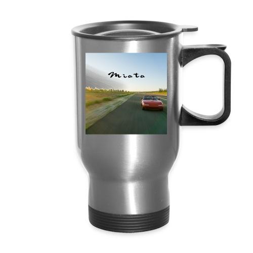 Miata Zen - Travel Mug with Handle
