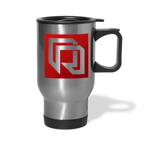 Red Iron Icon (Inverted) - Travel Mug