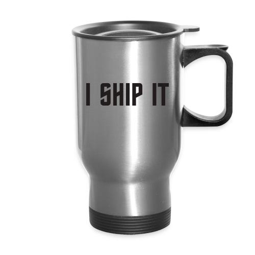 I Ship It Trek Shirt - Travel Mug