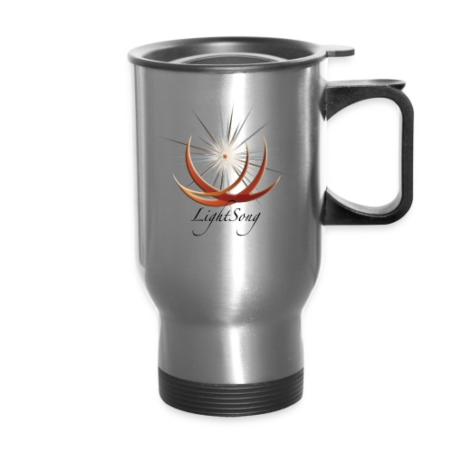LightSong Logo Transparent - Travel Mug