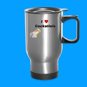 Cockatiels - Travel Mug
