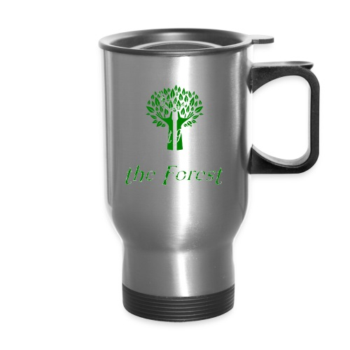 genealogy family tree forest funny birthday gift - Travel Mug