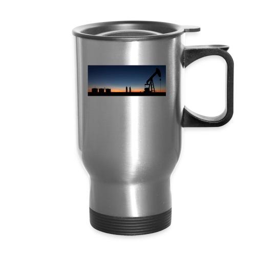 sunset_south_texas - Travel Mug