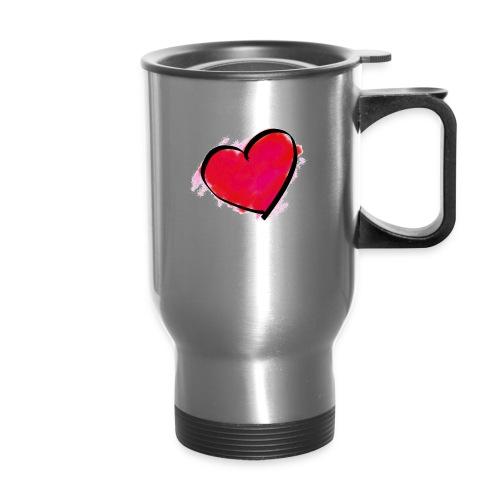 heart 192957 960 720 - Travel Mug