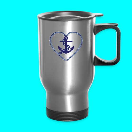 Forever Anchored - Travel Mug