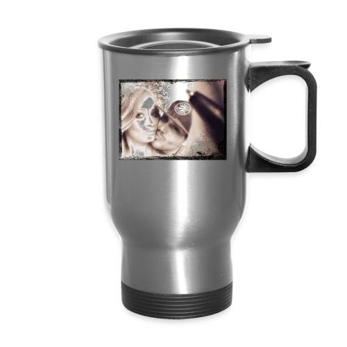 Anisha & Randy = ♡ Eternal - Travel Mug