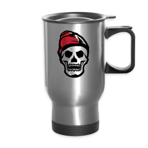Custom Skull With Ice Cap Merch! - Travel Mug
