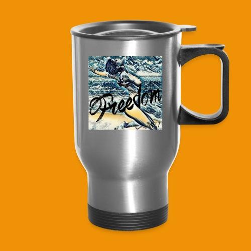 Freedom - Travel Mug with Handle