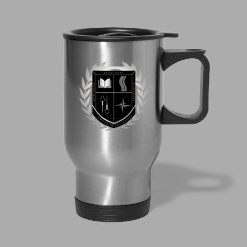 Lyceum Institute Seal - Inverted - Travel Mug with Handle