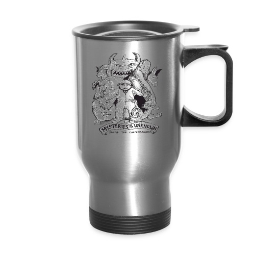 mysteriesfinal png - Travel Mug with Handle