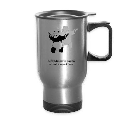 Schrödinger's panda is really upset now - Travel Mug