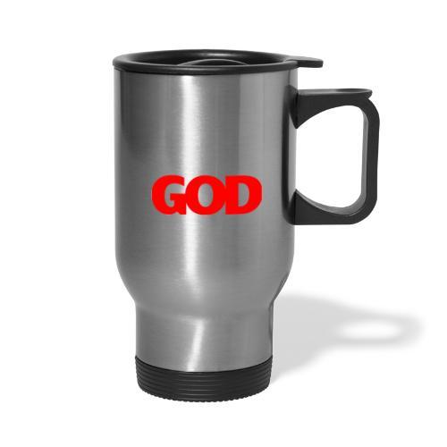 ME GOD WIN WHT - Travel Mug