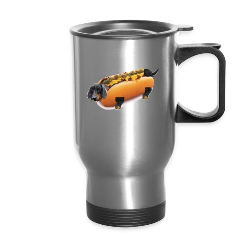 Hot Dog Literally - Travel Mug
