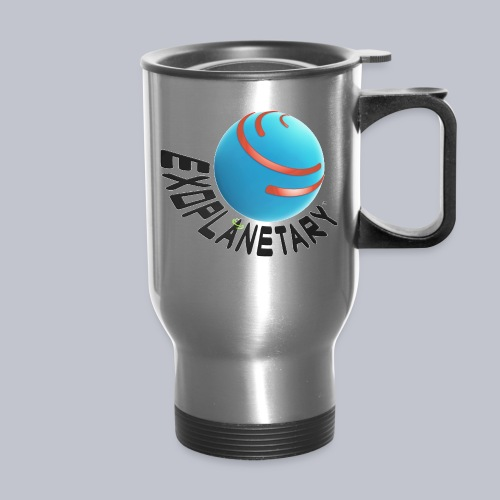 Exoplanetary Metalic Products Logo png - Travel Mug