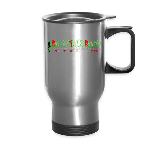 str front png - Travel Mug with Handle