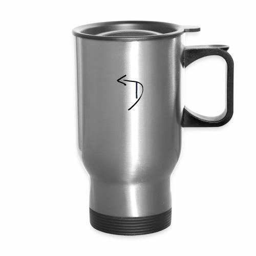 Detour logo blue - Travel Mug