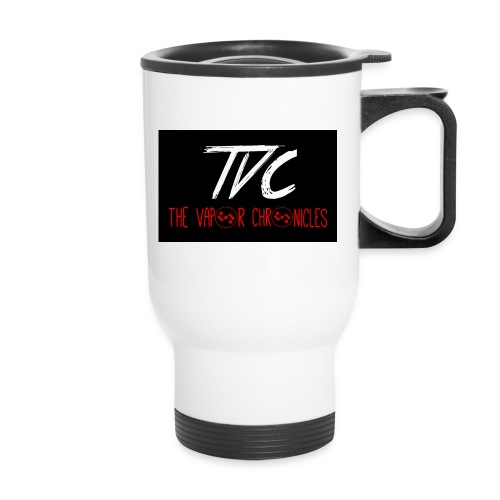TVC Simple Red jpg - Travel Mug