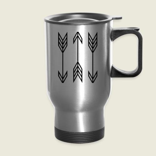 arrow symbols - Travel Mug