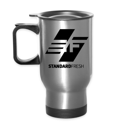 SF Logo BLK png - Travel Mug