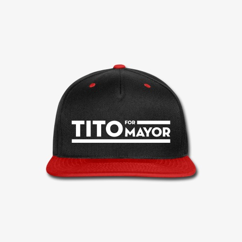 Tito Jackson For Mayor - Snap-back Baseball Cap