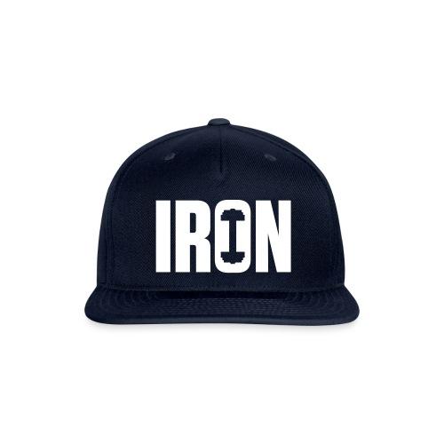 IRON WEIGHTS - Snapback Baseball Cap