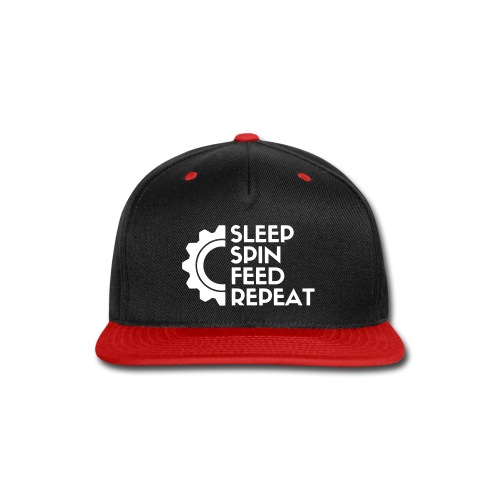 SLEEP SPIN FEED REPEAT One - Snap-back Baseball Cap