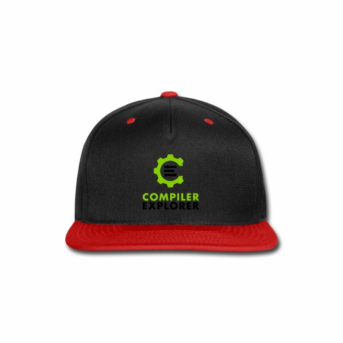 Logo and text - Snap-back Baseball Cap