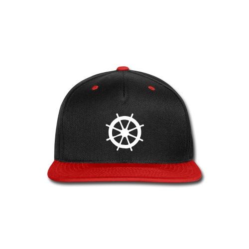Steering Wheel Sailor Sailing Boating Yachting - Snap-back Baseball Cap