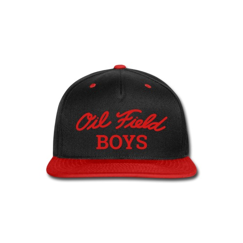Oil Field Boys Red - Snap-back Baseball Cap