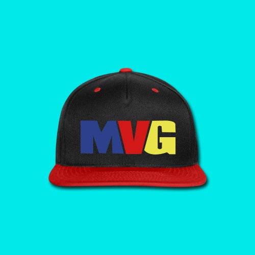 mvglogo hats - Snap-back Baseball Cap