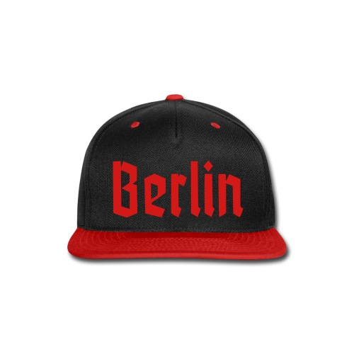 BERLIN Fraktur Font - Snap-back Baseball Cap