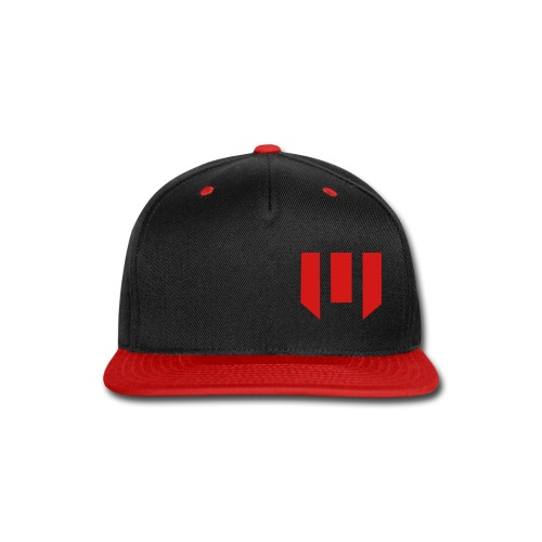 tronshirtblack2solidinvert - Snap-back Baseball Cap