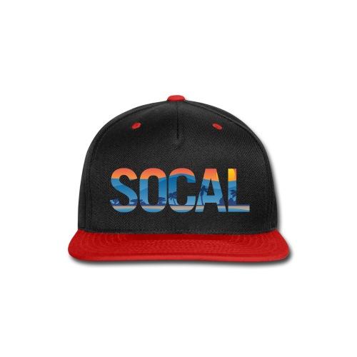 SOCAL Southern California Pride Illustration - Snap-back Baseball Cap