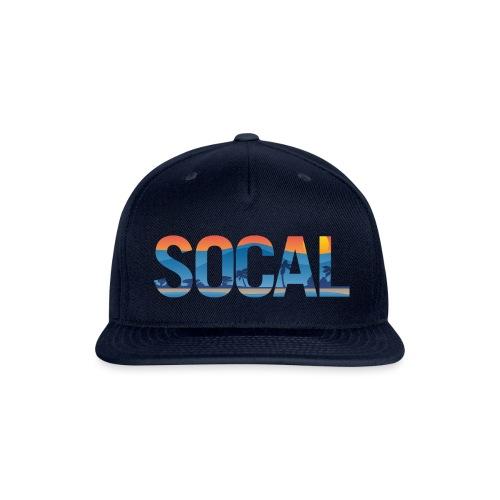 SOCAL Southern California Pride Illustration - Snapback Baseball Cap