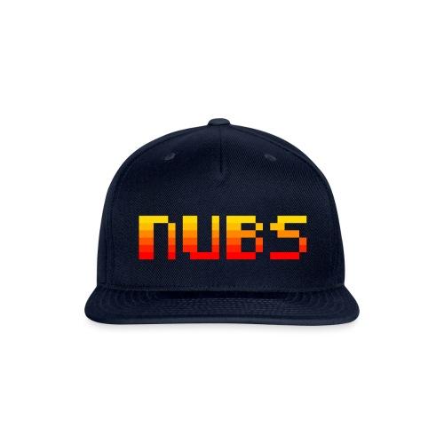 nubs is fire - Snap-back Baseball Cap