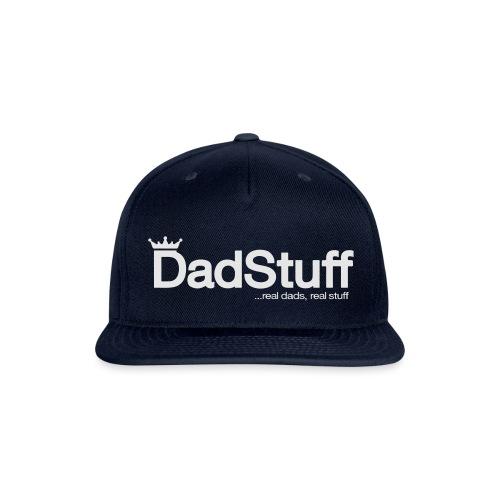 DadStuff Full View - Snapback Baseball Cap