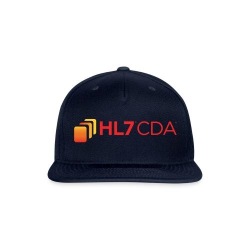 HL7 CDA Logo - Snapback Baseball Cap