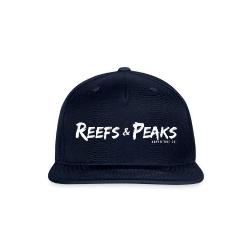 ReefsAndPeaks Logo collection - Snapback Baseball Cap