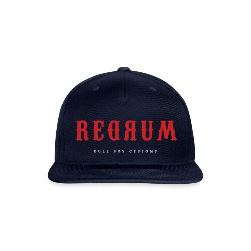 REDRUM - Snapback Baseball Cap